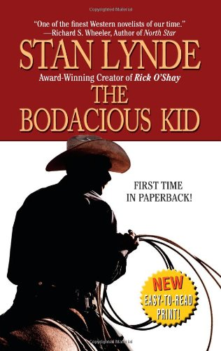 The Bodacious Kid 9780843963502