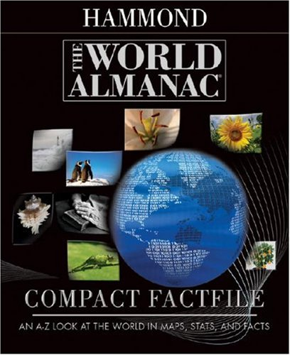 The World Almanac Compact Factfile: An A-Z Look at the World in Maps, Stats, and Facts 9780843709636