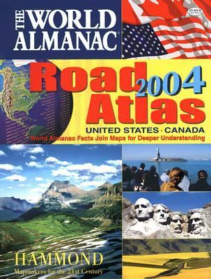 The World Almanac Road Atlas: United States, Canada 9780843719253