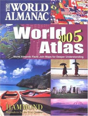 The World Almanac World Atlas: World Almanac Facts Join Maps for Deeper Understanding 9780843719703