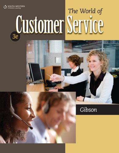 The World of Customer Service 9780840064240