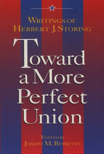 Toward a More Perfect Union 9780844738406