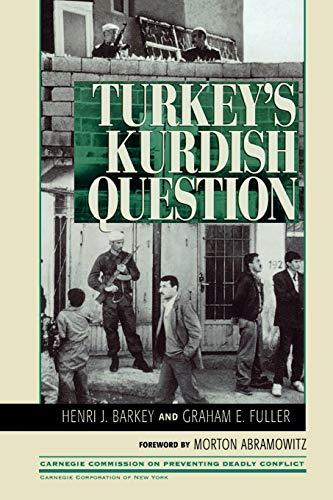Turkey's Kurdish Question 9780847685530