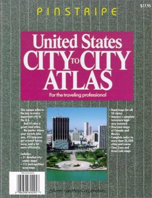 United States City-To-City Atlas 9780841692954