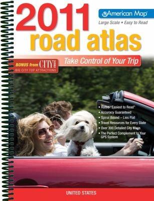 United States Road Atlas 2011 Large Print