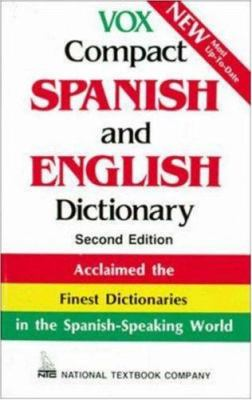 Vox Compact Spanish and English Dictionary 9780844279855