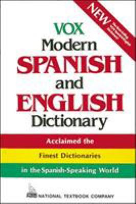 Vox Modern Spanish and English Dictionary (Vinyl Cover) 9780844279886