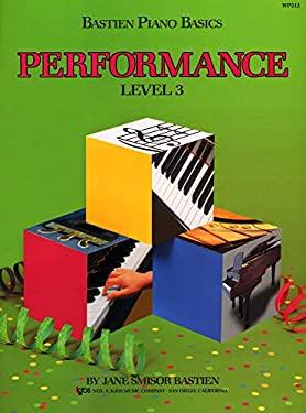 WP213 - Bastien Piano Basics - Performance Level 3