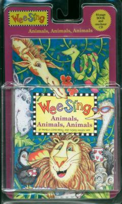 Wee Sing Animals, Animals, Animals [With One-Hour CD] 9780843120349