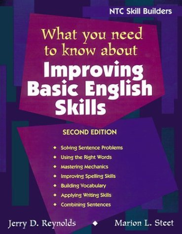 What You Need to Know about Improving Basic English Skills 9780844259673