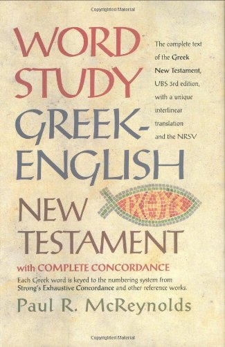 Word Study Greek-English New Testament-NRSV 9780842382908
