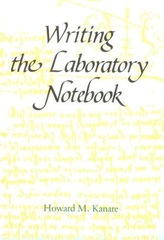 Writing the Laboratory Notebook