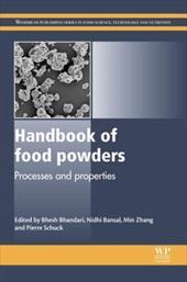 Handbook of Food Powders: Processes and Properties 21668998