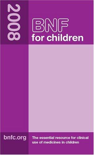 BNF for Children 9780853697800