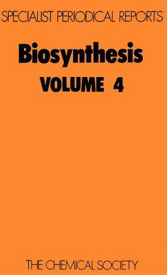 Biosynthesis: Volume 4
