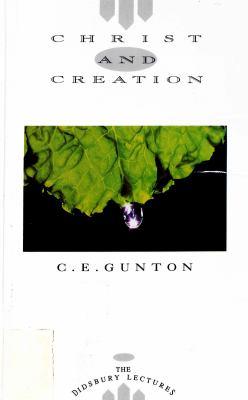 Christ and Creation 9780853645276