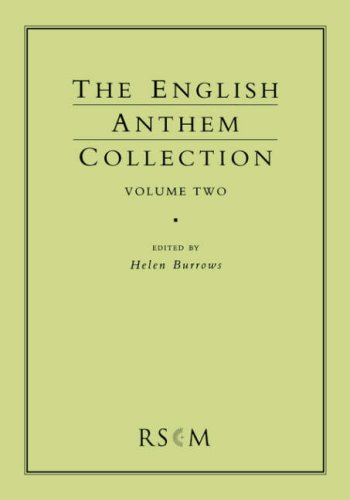 English Anthem Collection Volume Two 9780854021215