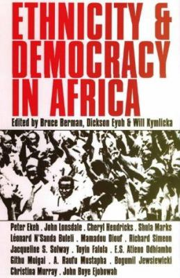 Ethnicity and Democracy in Africa 9780852558607