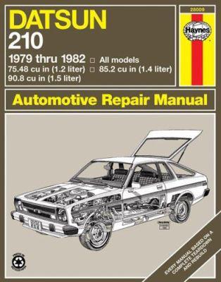 Datsun 210 1979 Thru 1982 9780856968655