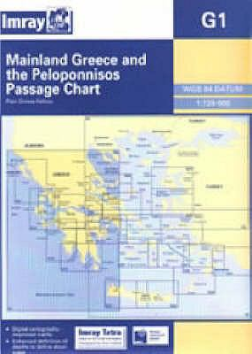 Imray Chart G1: Greece and the Peloponnese 9780852888056