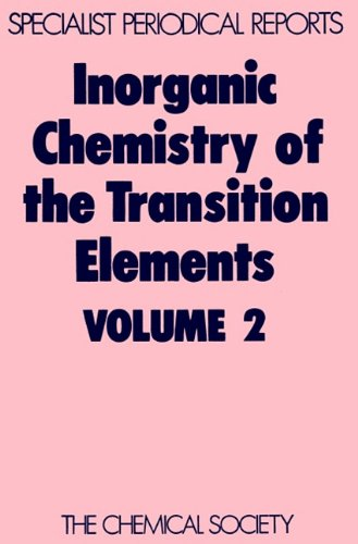 Inorganic Chemistry of the Transition Elements: Volume 2 9780851865102