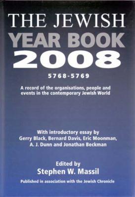 Jewish Year Book 2008 9780853037989