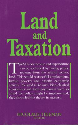 Land and Taxation 9780856831621