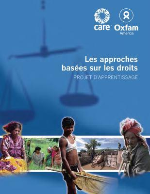 Les Approaches Basees Sur les Droits: Projet D'Apprentissage 9780855986094