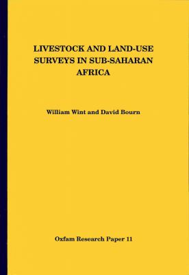 Livestock and Land-Use Surveys in Sub-Saharan Africa 9780855982843