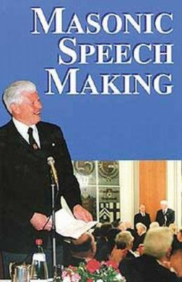Masonic Speech Making 9780853180050