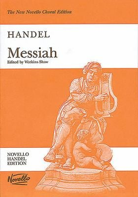 Messiah: Vocal Score, Paperpack 9780853602118