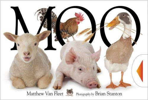 Moo!. Illustrated by Matthew Van Fleet