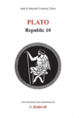 Plato: Republic 10 9780856684067