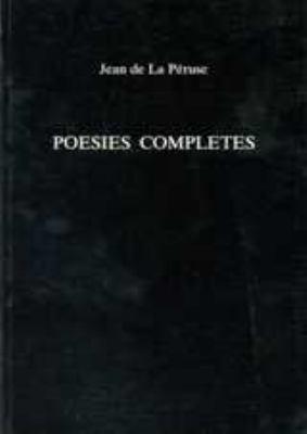 Poesies Completes 9780859893633
