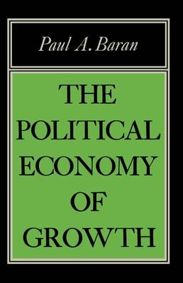 Political Econ of Growth 9780853450764