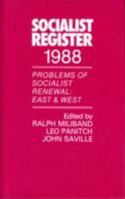 Socialist Register 9780850363548