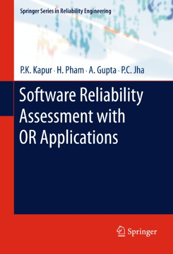 Software Reliability Assessment with OR Applications 9780857292032