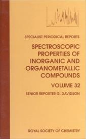 Spectroscopic Properties of Inorganic and Organometallic Compounds: Volume 32 11422393