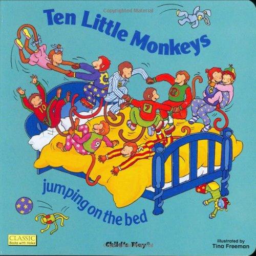 Ten Little Monkeys 9780859537988