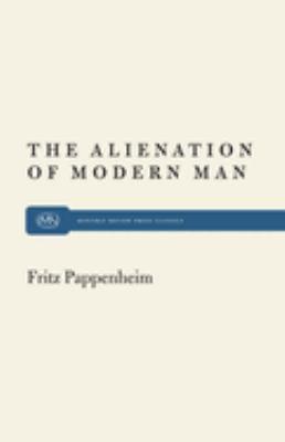 Alienation Modern Man 9780853450054