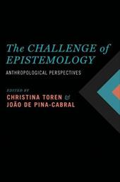 The Challenge of Epistemology: Anthropological Perspectives 16470206