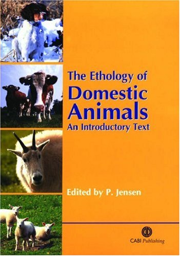 The Ethology of Domestic Animals: An Introductory Text 9780851996028