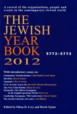 The Jewish Year Book 2012 9780853039044