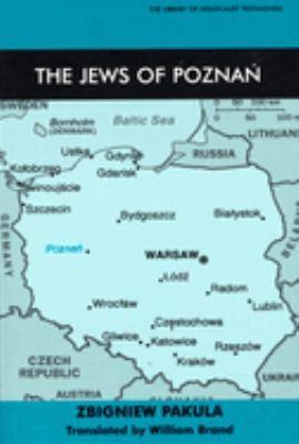 The Jews of Poznan 9780853034308