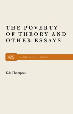 Poverty of Theory 9780853454915