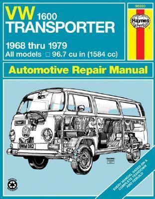 VW Transporter 1600, 1968-1979 9780856966606