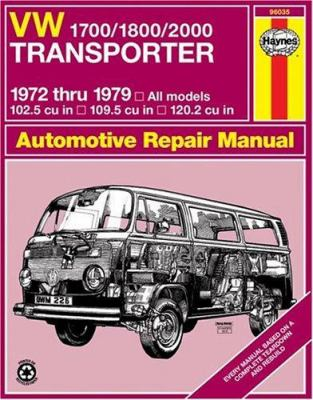 VW Transporter 1700, 1800 and 2000, 1972-1979 9780856966149