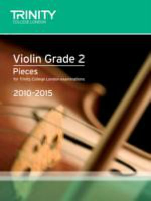 Violin Exam Pieces Grade 2 2010-2015 (score + Part) 9780857360519