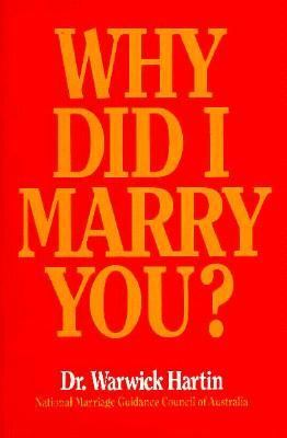 Why Did I Marry You? 9780855721831