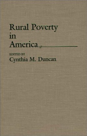 Rural Poverty in America 9780865690134